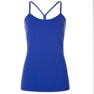 LULULEMON Power Y Tank Sapphire Blue